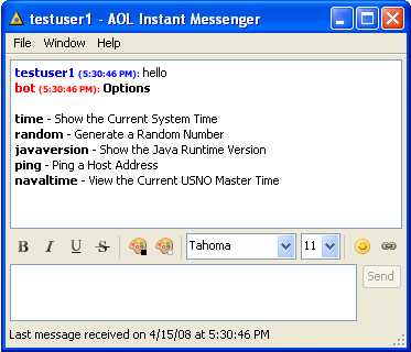 aol messenger chat rooms seniors